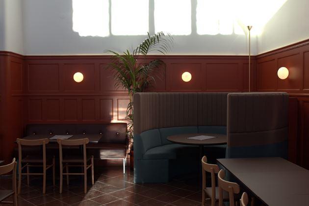 Sandel Sandberg - Royal Post Office in Malmö / Brasserie KP
