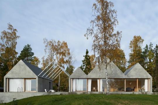Summerhouse Lagnö - TVARK - Arkitekthus