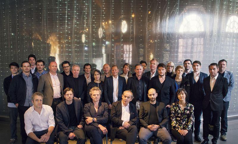 Deltagande arkitekter i arkitekttävlingen, för Nobel Center, Stockholm, juni 2013