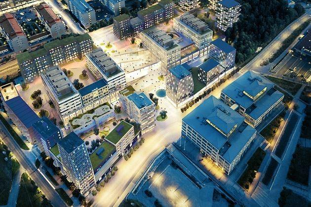 Ett stadsutvecklingsprojekt i Hallonbergen för Wallenstam är ett aktuellt projekt för sandellsandberg.